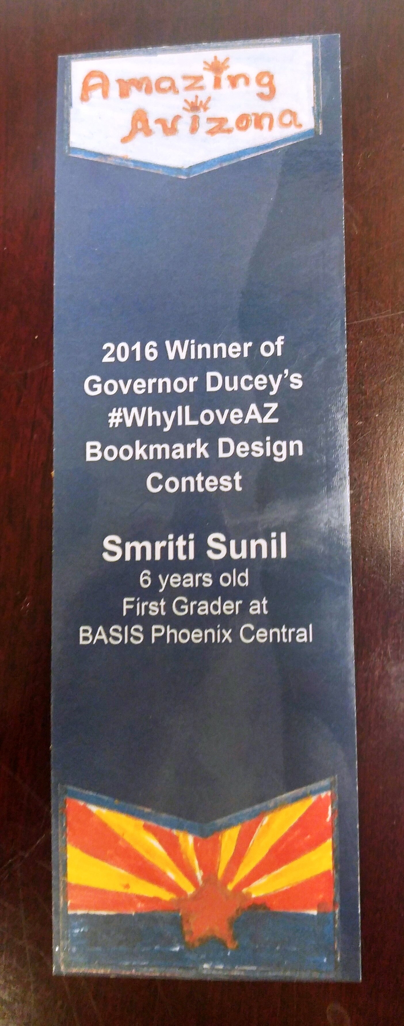 Bookmark Winner