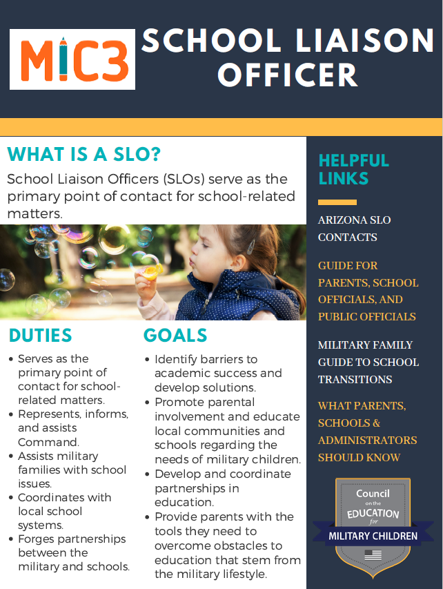 School Liaison Officer