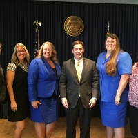 Governor with 2014 Teachers of the Year