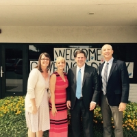 Governor visits Desert Voices